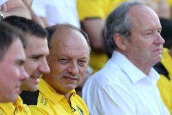 Frédéric Vasseur, directeur de la compétition Renault Sport F1 Team