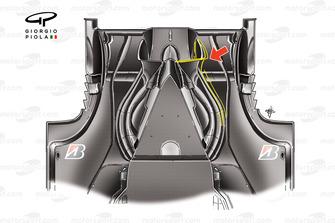 Ferrari F60 (660) 2009 diffuser underside view