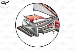 McLaren MP4-23 2008 front wing