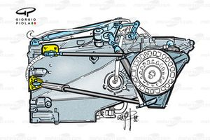 WIlliams FW21 gearbox