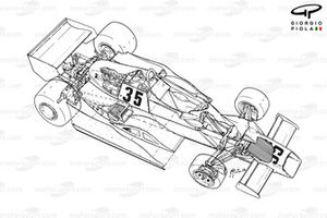 Arrows FA1 1978, panoramica esplosa