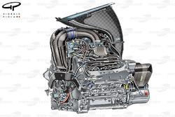 L'unité de puissance Ferrari 059/3