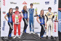 Podium: 1. Colton Herta, Andretti Steinbrenner Racing; 2. Santiago Urrutia, Belardi Auto Racing; 3.