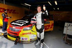 Roberto Ravaglia test de Chevrolet van Tom Coronel