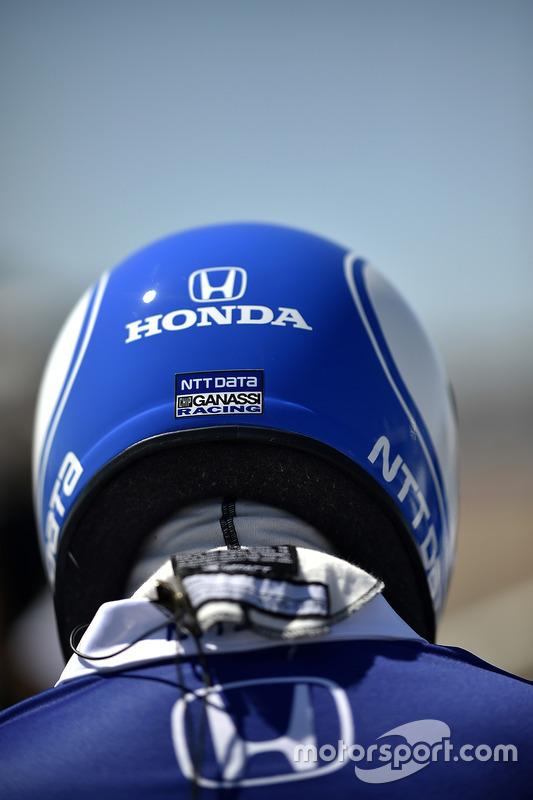 Mechaniker für Tony Kanaan, Chip Ganassi Racing