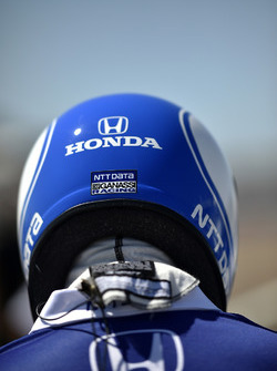 Tony Kanaan, Chip Ganassi Racing Honda, crew