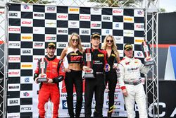 Podium: 1. Patrick Long, Wright Motorsports; 2. Alex Riberas, R.Ferri Motorsport; 3. Johnny O'Connel