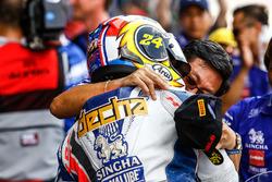 Second place Decha Kraisart, Yamaha Thailand Racing Team