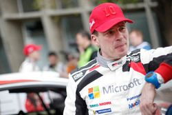 Miikka Anttila, Toyota Yaris WRC, Toyota Racing