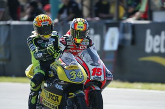 Andrea Dovizioso et Roberto Locatelli