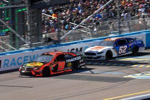 Martin Truex Jr., Joe Gibbs Racing, Toyota Camry Bass Pro Shops, Bayley Currey, Rick Ware Racing, Ford Mustang Mtel-One