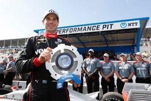 Ganador del Premio NTTP P1 Will Power, Equipo Penske Chevrolet