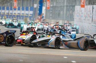 Edoardo Mortara, Venturi Formula E, Venturi VFE05 met Lucas Di Grassi, Audi Sport ABT Schaeffler, Audi e-tron FE05