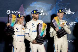 Podio GTLM: #81 BMW Team MTEK BMW M8 GTE: Martin Tomczyk, Nicky Catsburg, Alexander Sims
