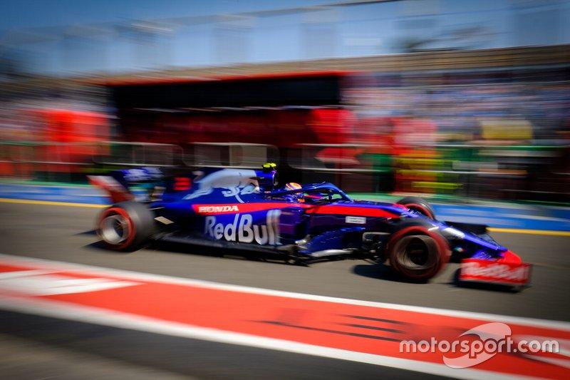 Alex Albon, Toro Rosso STR14