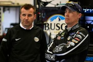 Kevin Harvick, Stewart-Haas Racing, Ford Mustang Busch Beer Car2Can and Rodney Childers