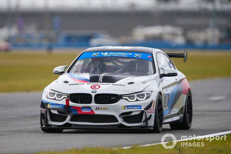 #88 Stephen Cameron Racing BMW M4 GT4, GS: Henry Schmitt, Greg Liefooghe
