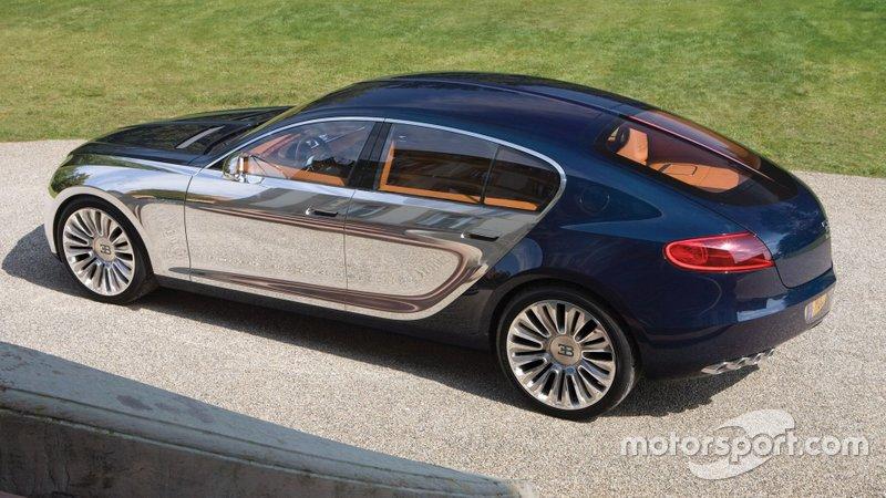 Концепт Bugatti Galibier