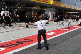 McLaren monteur