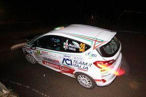 Andrea Mazzocchi, Silvia Gallotti, Ford Fiesta R2 #28, Leonessa Corse