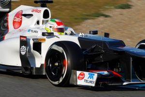 Sergio Perez, BMW Sauber C31 Ferrari