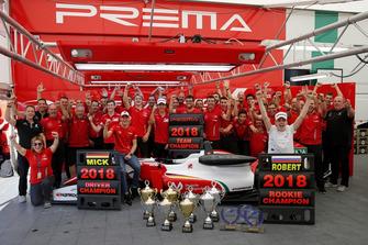 I festeggiamenti del Team PREMA Theodore Racing