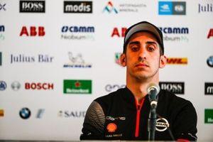 Sébastien Buemi, Nissan e.Dams in the press conference