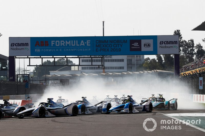 Felipe Massa, Venturi Formula E, Venturi VFE05, Antonio Felix da Costa, BMW I Andretti Motorsports, BMW iFE.18 y Alexander Sims BMW I Andretti Motorsports, BMW iFE.18
