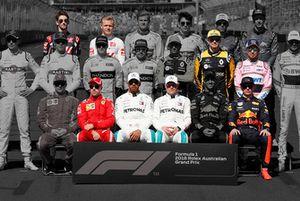 Los únicos pilotos que repiten equipo de la temporada 2018 de F1 a la 2019