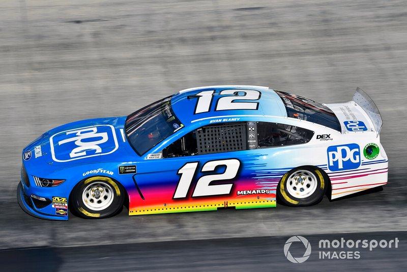 4. Ryan Blaney, Team Penske, Ford Mustang