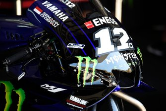 Maverick Vinales, Yamaha Factory Racing bike detail