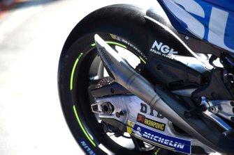Team Suzuki MotoGP exhaust detail