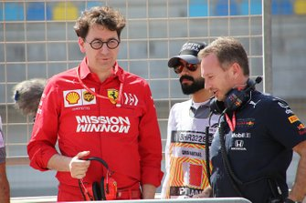 Mattia Binotto, Ferrari, Christian Horner, Red Bull Racing