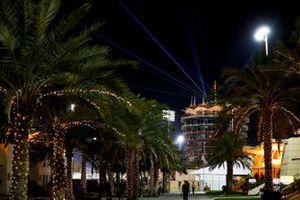 Bahrain Tower at night