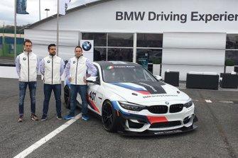 L'equipaggio del Team Ceccato Motors Racing per la serie Endurance