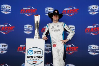 Race Winner Colton Herta, Harding Racing