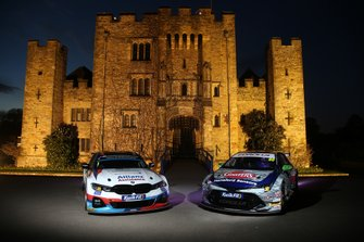 Colin Turkington, WSR BMW and Tom Ingram, Speedworks Motorsport Toyota Corolla at Hever Castle