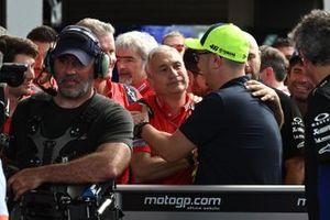 Davide Tardozzi, Team manager Ducati Team, Uccio Salucci