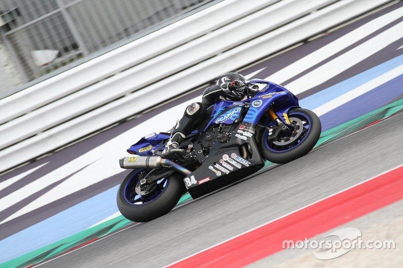 Francesco Gustinelli, Yamaha