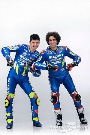 Alex Rins, Team Suzuki MotoGP, Joan Mir, Team Suzuki MotoGP