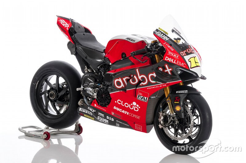 Bike von Alvaro Bautista, Aruba.it Racing-Ducati SBK Team