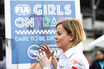 FIA Girls on Track event with Susie Wolff, Team Principal, Venturi Formula E
