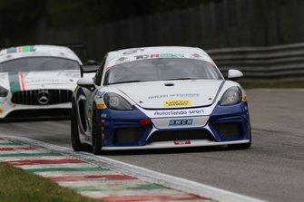 #276 Porsche 718 Cayman GT4, Autorlando Sport: Giuseppe Ghezzi