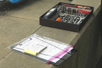 A.J. Foyt Enterprises Chevrolet team tools