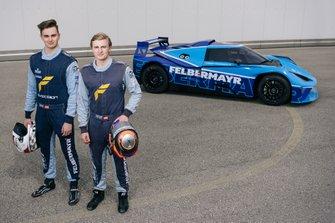 Mads Siljehaug, Eike Angermayr, Felbermayr Racing KTM X-BOW GT4