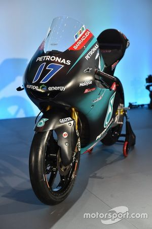 La moto de John McPhee, PETRONAS Sprinta Racing