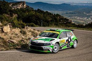 Marco Bulacia Wilkinson, Marcelo Der Ohannesian, Skoda Fabia Rally2 evo
