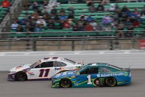 Denny Hamlin, Joe Gibbs Racing, Toyota Camry FedEx Freight, Kurt Busch, Chip Ganassi Racing, Chevrolet Camaro AdventHealth