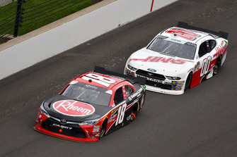 Ryan Preece, Joe Gibbs Racing, Toyota Camry Rheem and Cole Custer, Stewart-Haas Racing, Ford Mustang Haas Automation