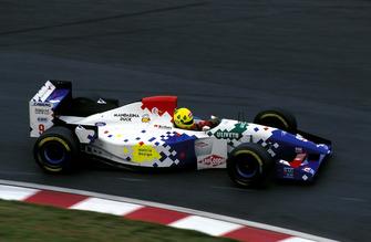 Christian Fittipaldi, Footwork FA15